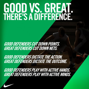 Hoop tips from Nike Basketball