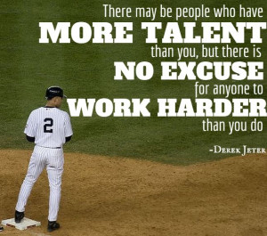 derek jeter quotes on hard work