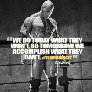 The Rock Dwayne Johnson Quotes and Sayings