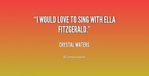 Ella Fitzgerald Quotes