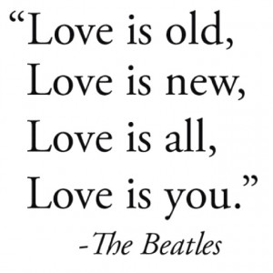 Love the beatles