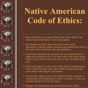 Native American Code of Ethics