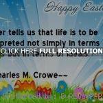 ... easter quotes, sayings, meaningful, great, life easter quotes, sayings