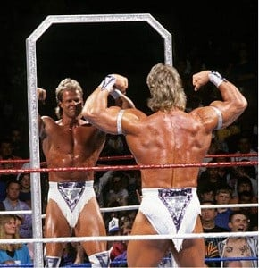 Lex Luger , the greatest specimen walking on Earth !