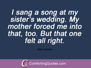 Adam Sandler Quotes