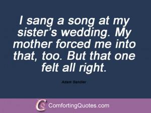 Adam Sandler Quotes