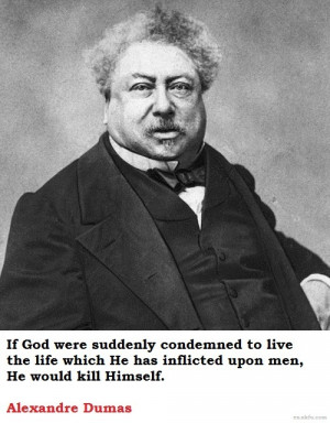 Alexandre Dumas - French writer. Famous for writing The Count of Monte ...