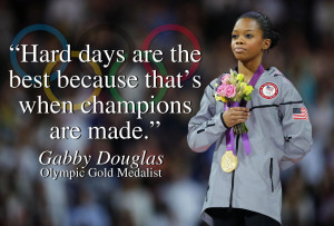 ... Home Business Professionals Learn From Olympic Champion Gabby Douglas