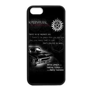 New-Customized-Laser-Technology-Supernatural-quotes-Phone-Case-for ...