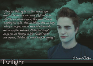 Edward Cullen Wallpaper Two