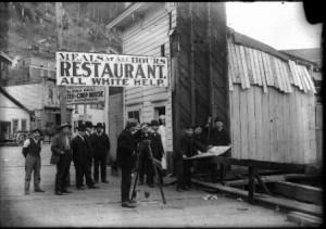 Racial Segregation in Juneau, c. 1908