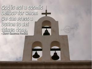 Christian Quote: Harry Emerson Fosdick Papel de Parede Imagem