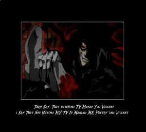 Hellsing Ultimate Abridged Alucard Quotes Hellsing Ultimate Abridged