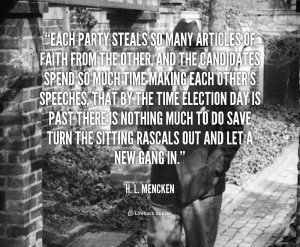 Mencken Quotes Stupidity