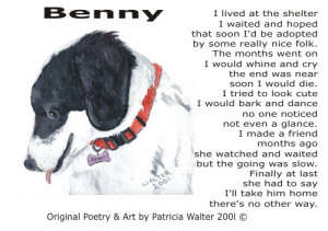 Benny Poetry & Art By Patricia