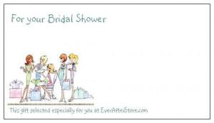 Bridal Shower Gift Tags, Bridal Shower Gift Tag Quotes, Bridal Shower ...