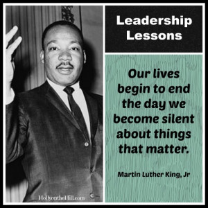 Today, as we remember Dr. Martin Luther King, Jr., I thought it ...