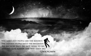 Best Sad Quote On The Loneliest & Saddest People