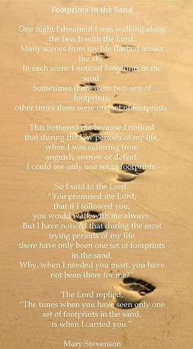 Footprints The Sand
