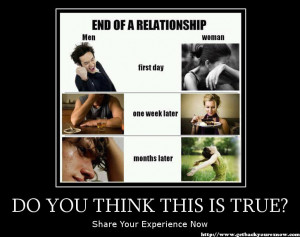 Who is Happy After a Break Up? Men or Women? Share Your Thoughts Below
