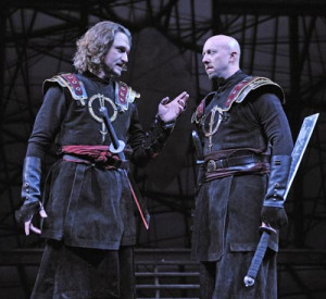 Macbeth and Banquo - Dougfred Miller and Lynn Robert Berg More