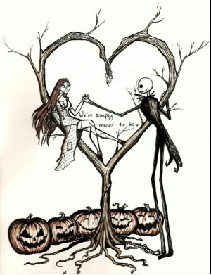 You are here: Home › Tattoos › Jack and Sally – The Nightmare ...