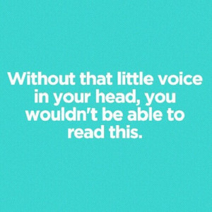 brain, head, quotes, voice