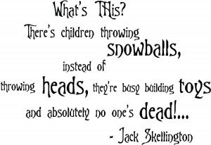 Nightmare Before Christmas Jack And Sally Quotes Jack And Sally ...