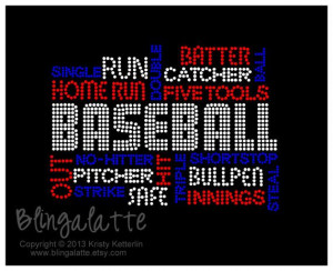 ... , Rhinestones Tshirt, Baseball Phrases, Sports Momma, Phrases Bling