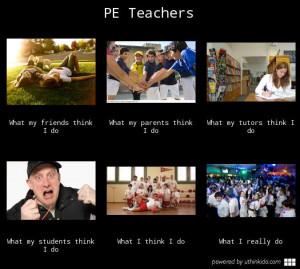 PE Teacher Funny Memes