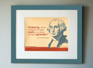 Free George Washington Quote to Frame