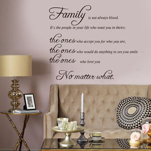 ... Removable-Wall-Sticker-Family-is-Quote-Vinyl-Decal-Art-Room-Home-Decor