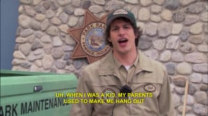 Parks And Recreation Andy Quotes Parks and recreation andy