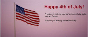 "... To Be Better"" is Famous Independence Day Sayings by Albert Camus"