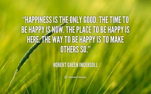 Robert Green Ingersoll Quotes