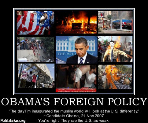 SEEMS LIKE OBAMA WAS CORRECT, THE MUSLIM WORLD IS LOOKING AT THE U.S ...