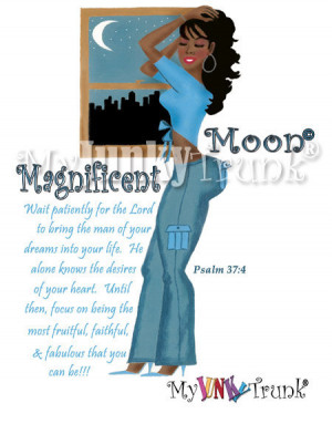 ... are here: Home › Quotes › Magnificent Moon- African American Print