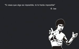 Bruce Lee Quotes Iphone Wallpaper Bruce lee thinking wallpaper