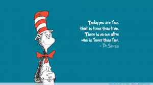 you! – Dr. Seuss motivational inspirational love life quotes sayings ...