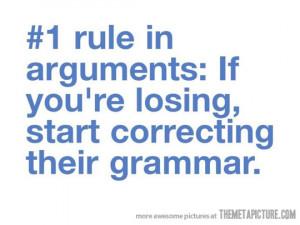 Funny photos funny argument correct grammar quote