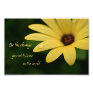 inspirational_quote_daisy_flower_photograph_print ...