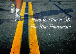 ... here . Part two is how I planned a color run and raffle 5K fundraiser