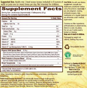 Garden Of Life - Raw Protein (622g)