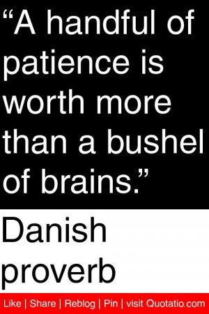 Danish Proverbs Quotes