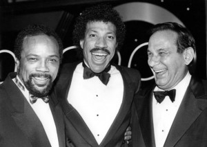 Lionel Richie, Quincy Jones and Hal David at the ASCAP Pop Awards ...