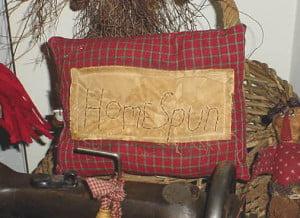 Home Spun Pillow