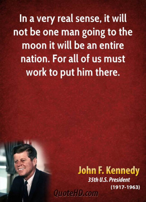 John F. Kennedy Work Quotes