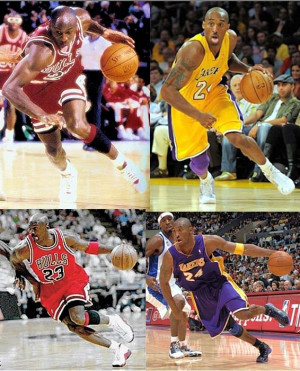 Re: Kobe Bryant vs Michael Jordan Identical Plays part 2 updated 1st ...