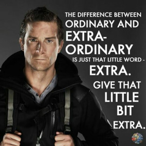 Insparatinal quote by Bear Grylls. The man that makes The Discovery ...