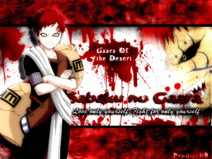Gaara Of The Sand Quotes (21)